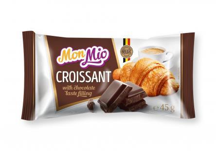 Croissant fourré au chocolat 45g - MONMIO - Croissant fourré au chocolat 45g - MONMIO