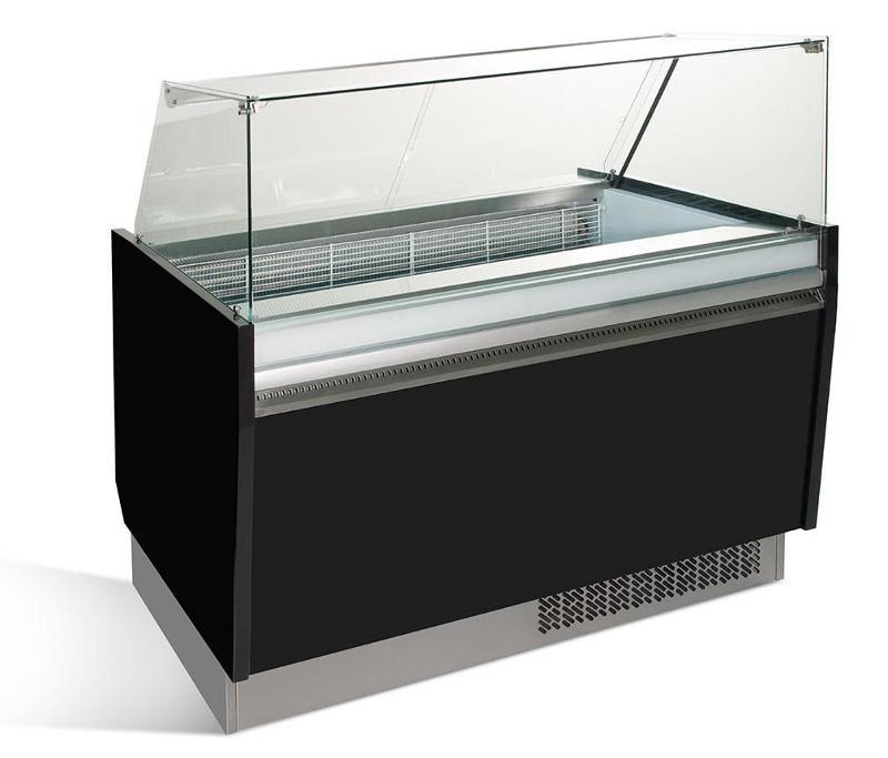 Ice counter - Ice counter 1.25 x 0.92 m - black