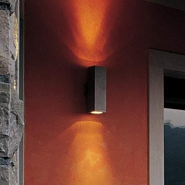 Impressive outdoor wall lamp DUPLEX - Outdoor Wall Lights