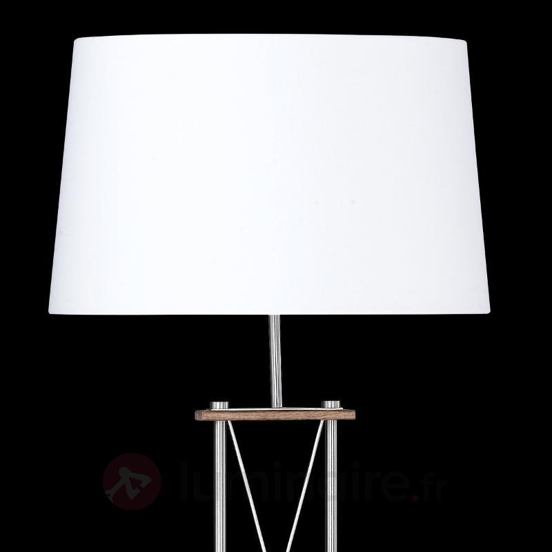 Lampadaire X au design attrayant - Lampadaires en tissu