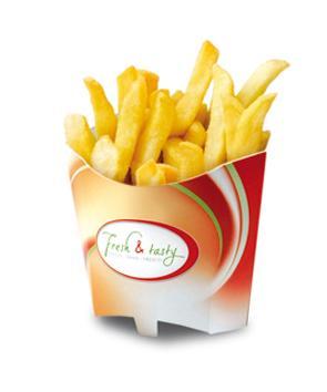 Pommesschütte; Pommesbox; Chip coop - null