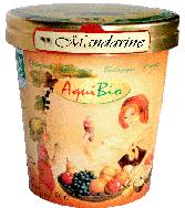 Crème glacée mandarine - Glace biologique