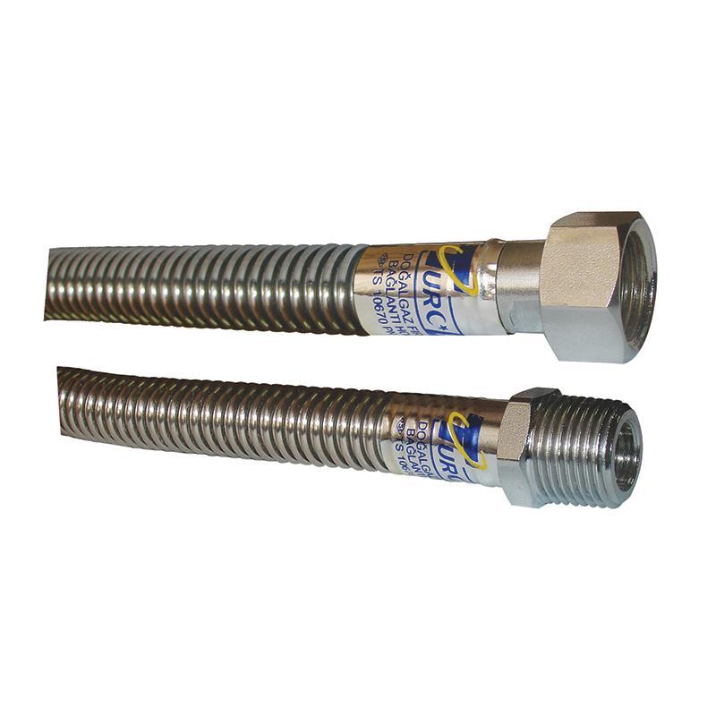 Tuyaux métaux qui peuvent se prolonger ( DN15-DN20)  - Tuyaux d'eau/métal, gaz qui peuvent se prolonger MF-FF