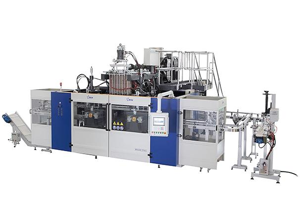 Food and Beverage Blow Molding Machine Cases - Milk Bottle Blow Molding Machine B20D-750(2 Stations 3 Cavities)