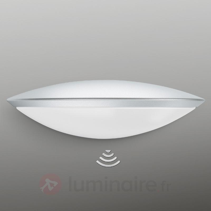 L825 LED iHF Applique ext. à capteur, argenté - Appliques d'extérieur avec détecteur