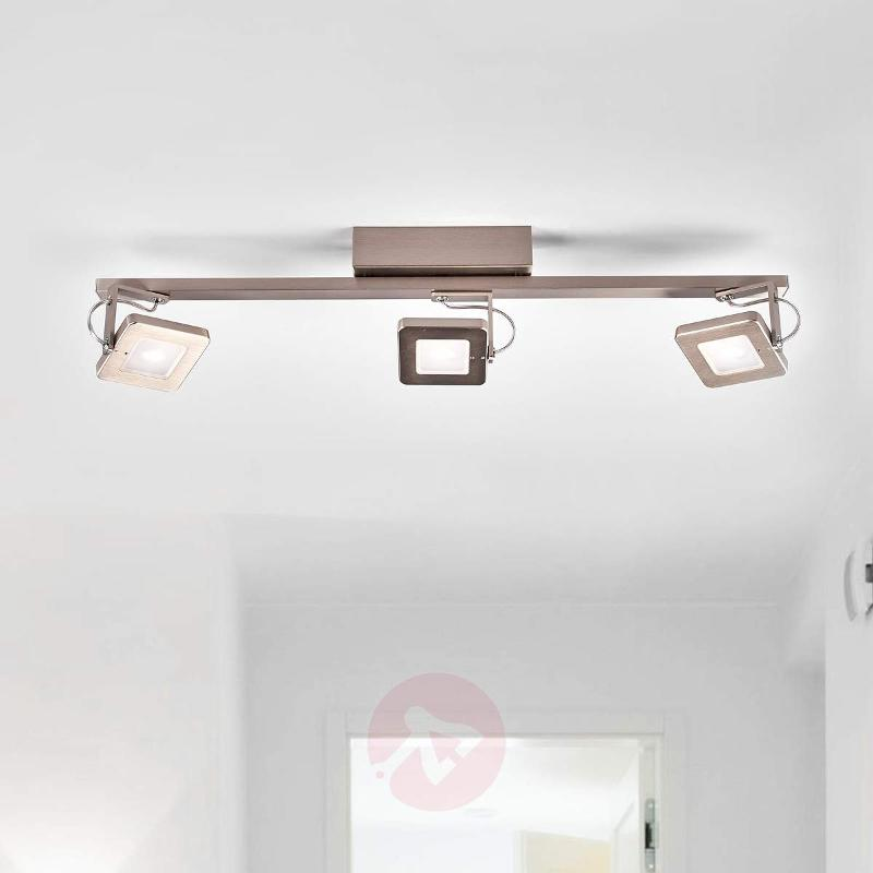 Dimmable LED ceiling lamp Kena - pivotable - Ceiling Lights