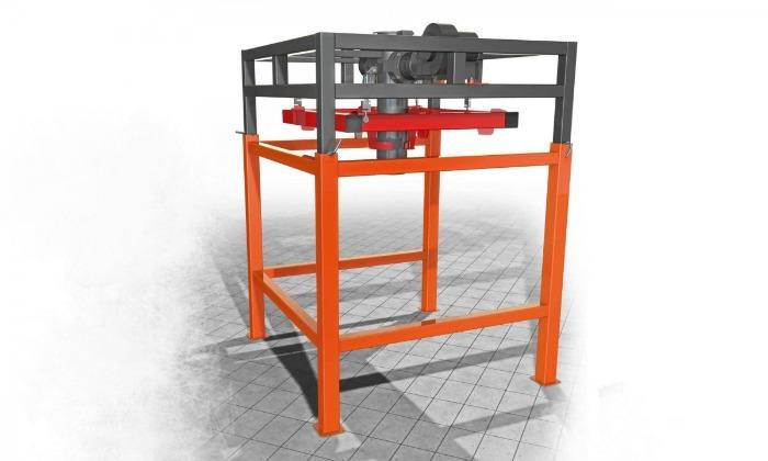 Dispenser per riempimento Big Bag con pesatura dall'alto - Dosatori di pesatura per il riempimento di vari prodotti sfusi in big bag