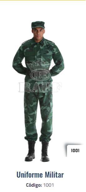 Uniforme militar  - Uniforme camuflaje militar