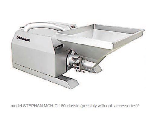 Affineur émulsionneur homogénéisateur broyeur - STEPHAN Microcut MCHD180