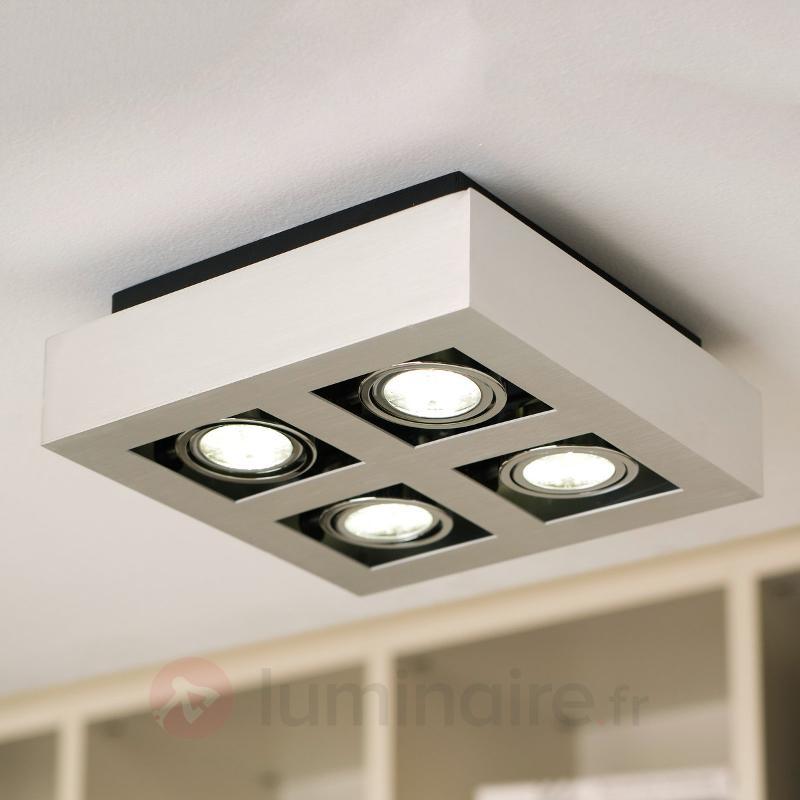 Plafonnier LED à 4 lampes Loke - Plafonniers LED