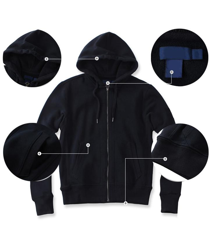 Hooded long sleeve fleece