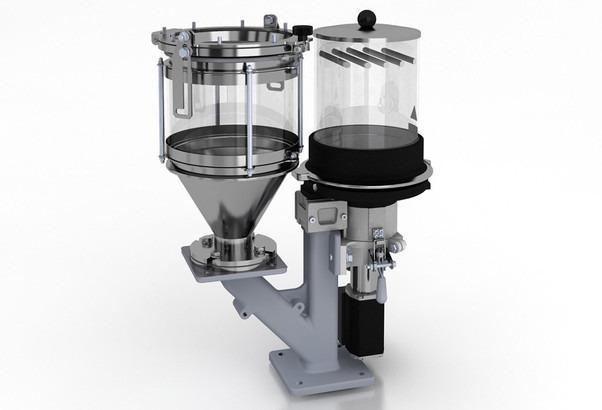 定量给料和混合装置-MINIBLEND V - 母料加料单元,添加剂加料,批量加料