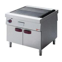 GAMME DELTA 1100 - GAS COOKING RANGE SOLID TOP