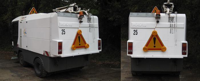 Equipements pour véhicules - Panneaux tri-flash pour véhicules - null