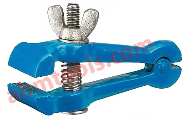 Hand Vice - Can either be held in the hand, as the name implies, or fastened in a bench vise