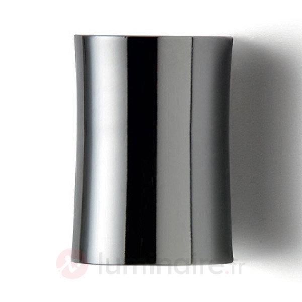 Applique raffinée OLIVIA 9 cm chrome - Appliques chromées/nickel/inox