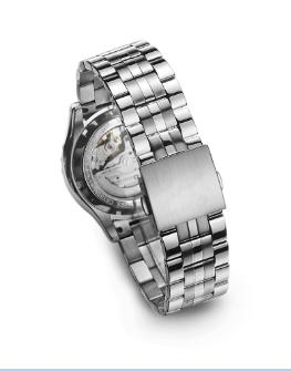 mechanical watch GCS13004 trendy in Macedonia -  new arrival trendy 5ATM water resistant japan miyota movement mechanical watch