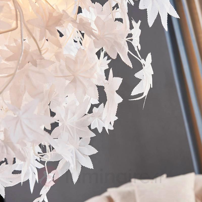 Grande suspension Maple avec décor de feuilles - Suspensions en tissu