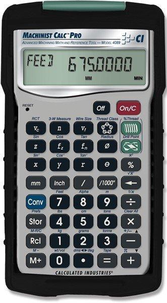 Machinist Calc Pro - Rechner Werkzeugbau - Es ist ein Rechen- und Referenzinstrument für die anspruchsvollen Aufgaben.
