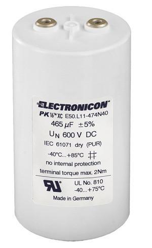 E50 PK16™ DC Kondensator - Ideal für die hohen Ströme Ihres Zwischenkreises