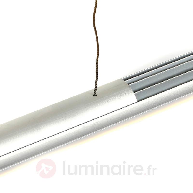 Suspension LED Aleda 120 cm en forme de tube - Suspensions LED