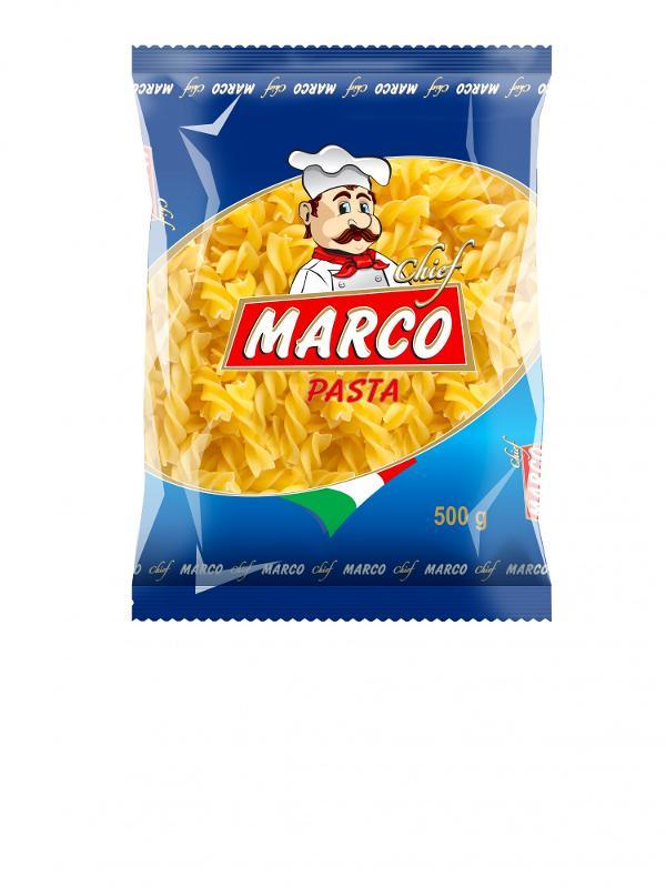 Wheat pasta - Marco 260 Lankstymas