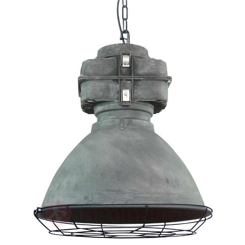 Anouk - suspension vintage avec diffuseur en verre - Cuisine et salle à manger