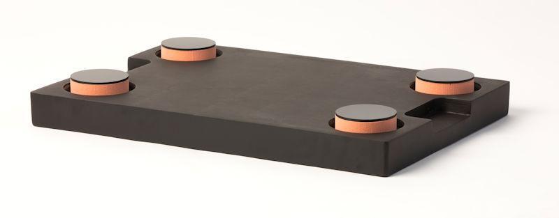 Lagerplatte für Mess-und Laborgeräte -