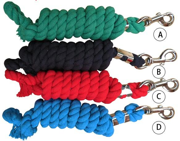 horse lead rope,pet's lead rope,cotton material,20MM thick - horse lead rope,pet's lead rope,cotton material,20MM thick, 9 colors 5 sizes
