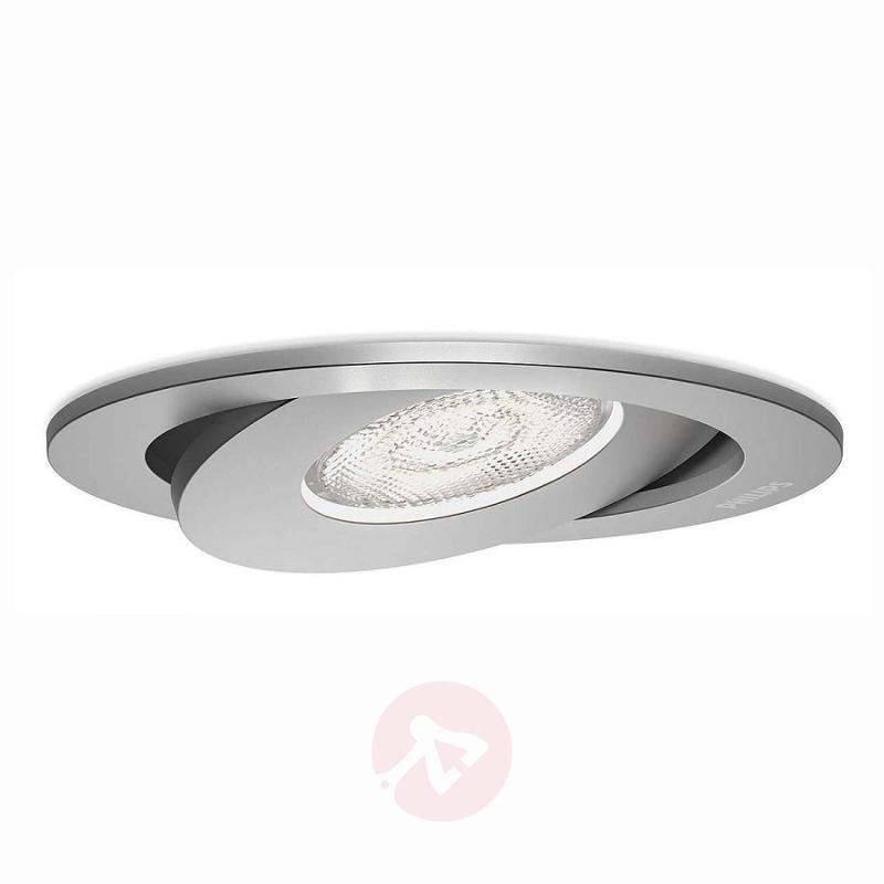 Pivotable Asterope LED recessed light - indoor-lighting