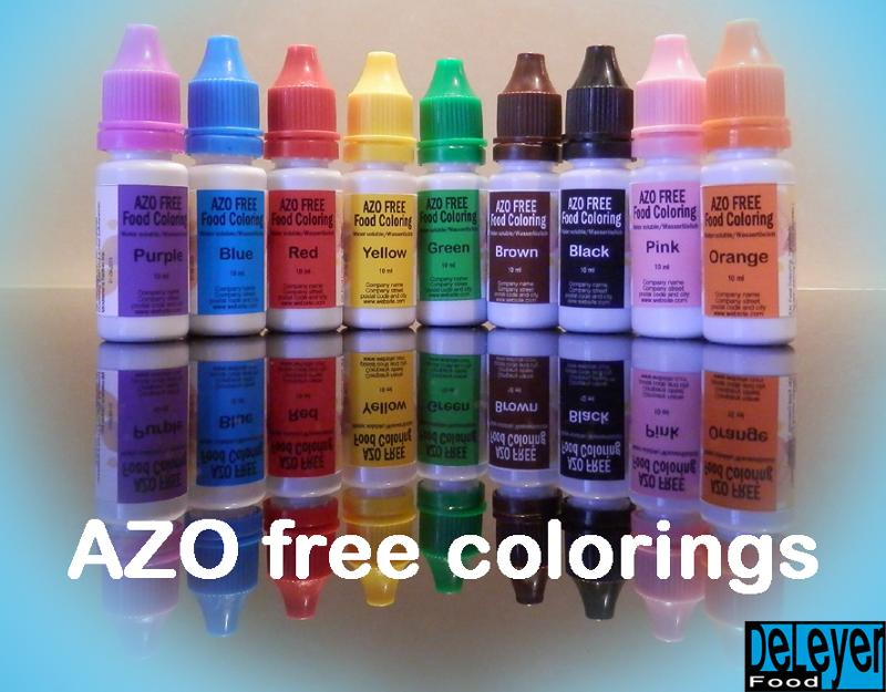 Food colorings - Azo free natural food colorings