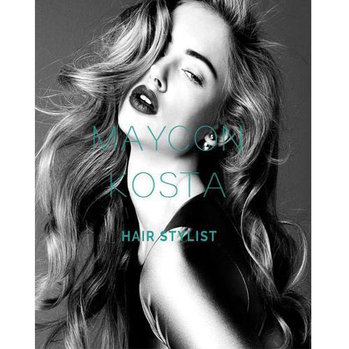 Criação do Site para o Artista Maycon Kosta - Área de atuação Hair & Make Up - Criação 100% 7ing Site