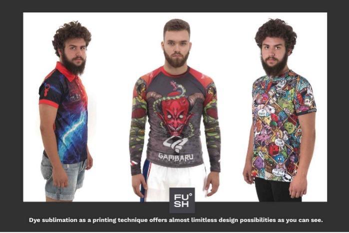 Sublimation Clothing - Custom-made