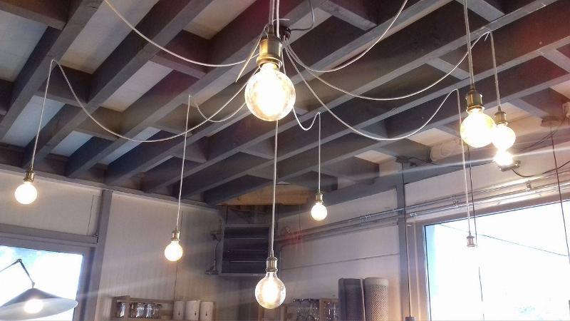Lampe suspension araignée sur mesure - Luminaires