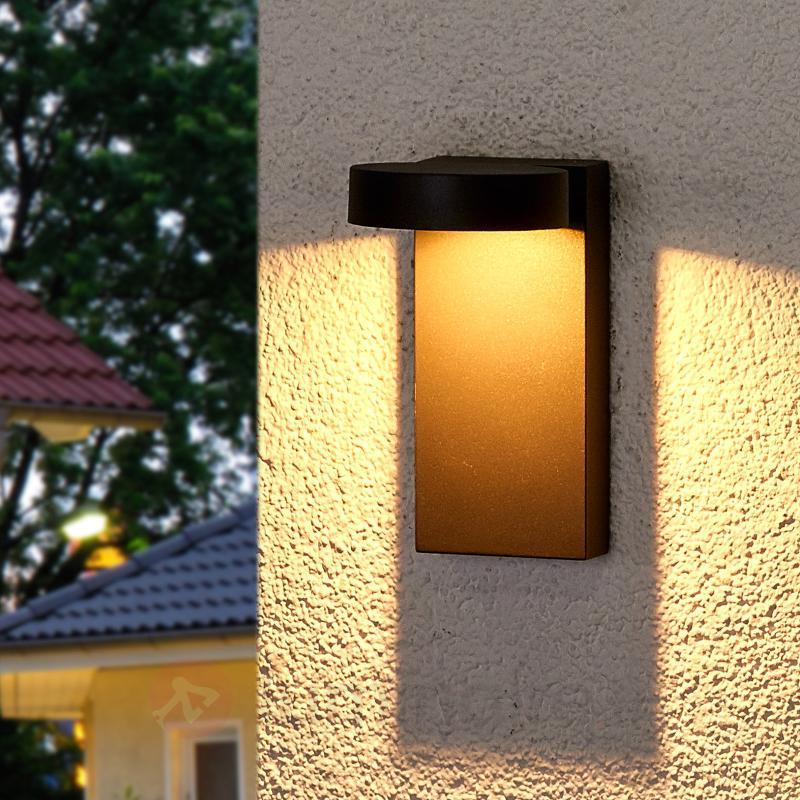 Applique ext. orientée vers le bas LED Ksenia - Appliques d'extérieur LED