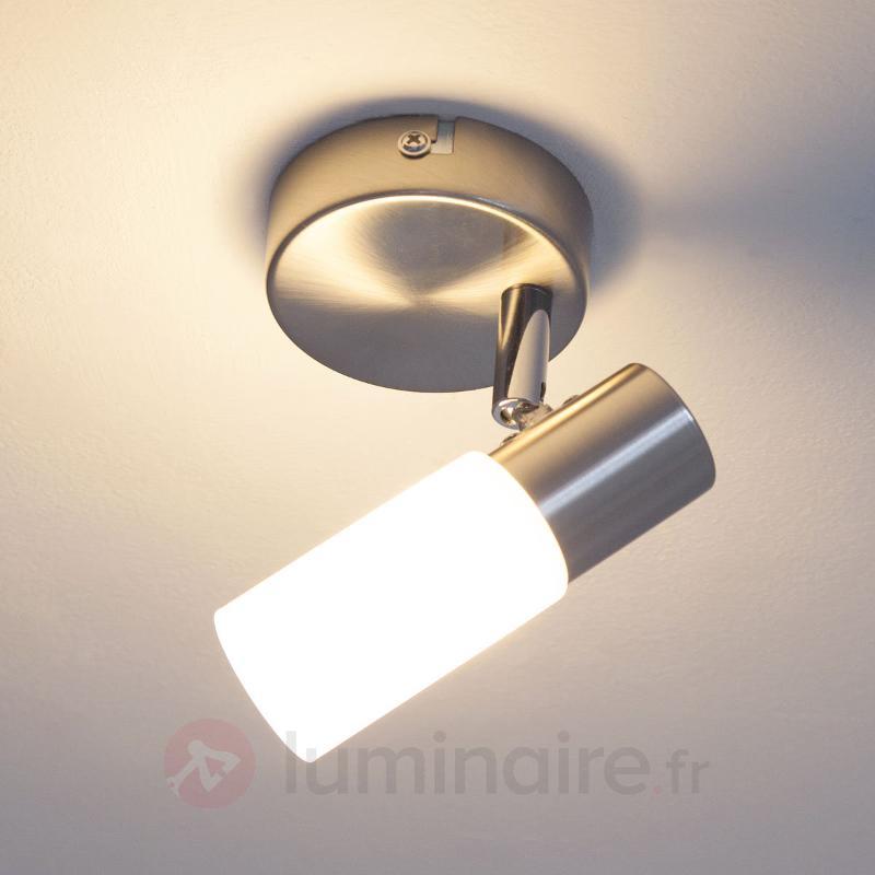 Spot LED Tamia, nickel mat - Appliques LED