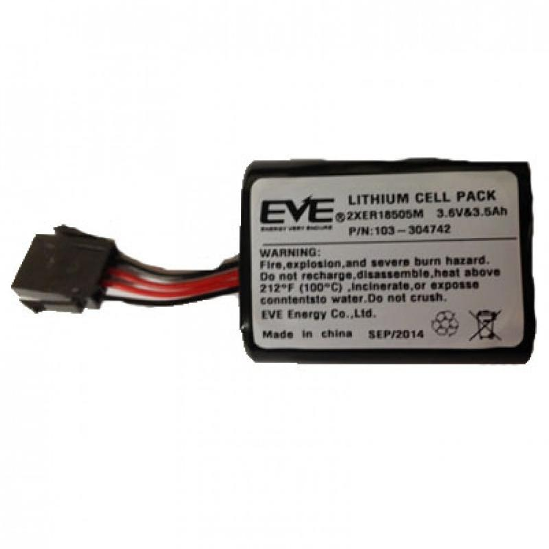 Batterie pour sirène d'alarme Visonic SR740 - SR720 -... - Alarme vol