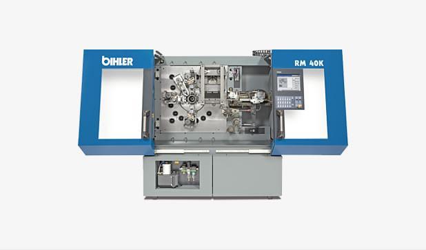 Mechanischer Stanzbiegeautomat - RM 40K - Mechanischer Stanzbiegeautomat RM 40K zur Massenfertigung von Stanzbiegeteilen.