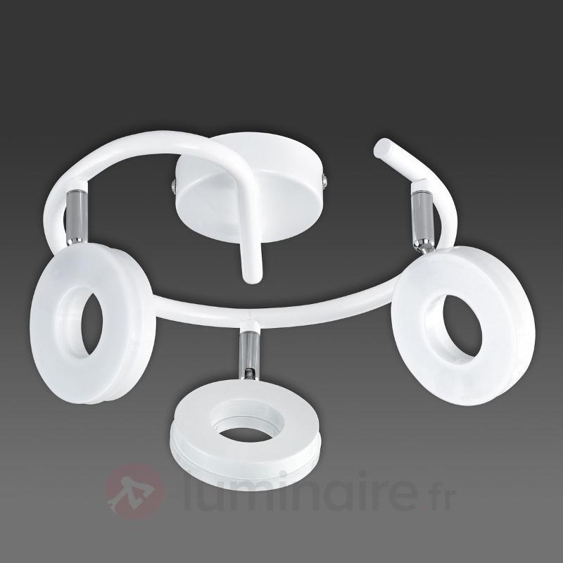 Joli plafonnier LED Rennes, blanc - Tous les plafonniers