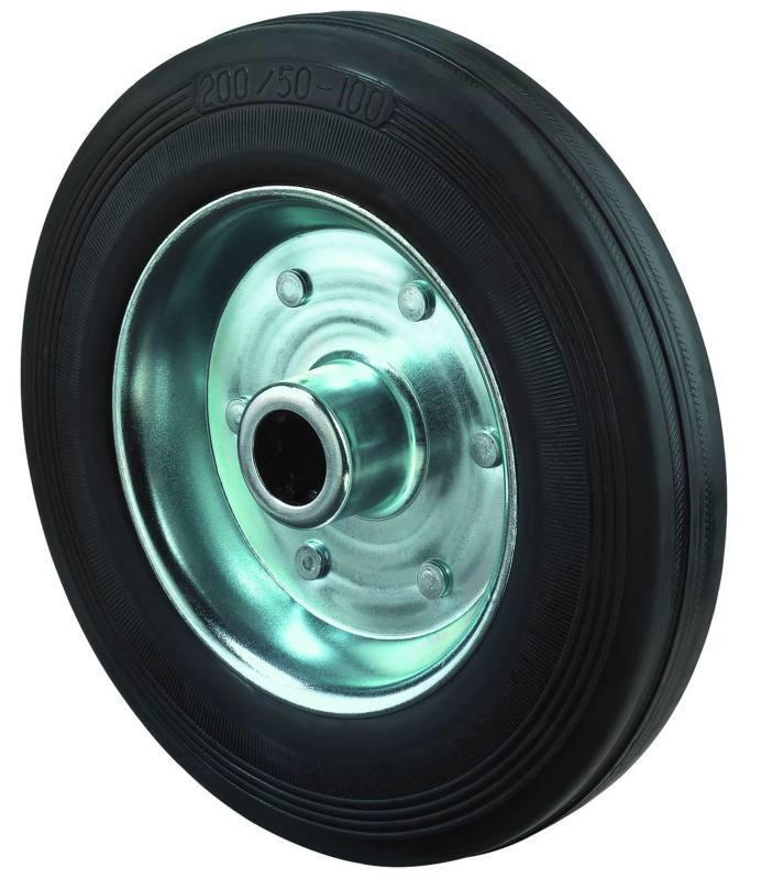 Rubber wheel B55