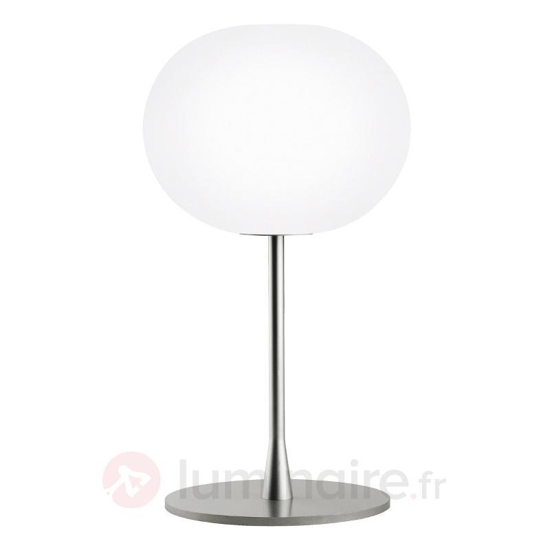 Lampe à poser élégante GLO-BALL T1 mat argenté - Lampes à poser designs