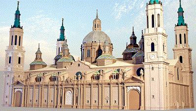 Maqueta de arquitectura - Maqueta táctil de resina de poliester, Museo Tiflológico de la ONCE en Madrid