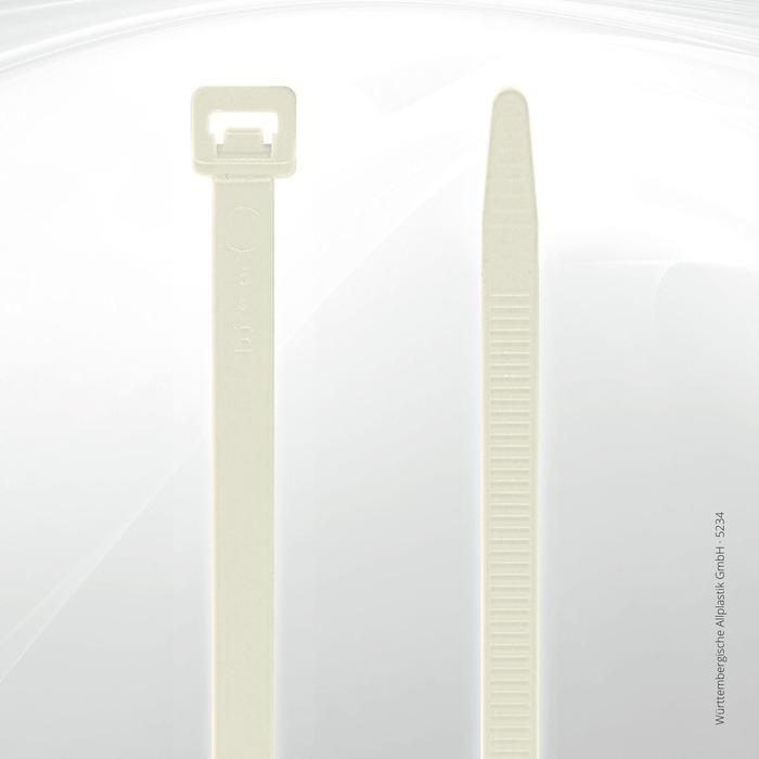 Allplastik-Kabelbinder® cable ties, standard - 5234 (natural)