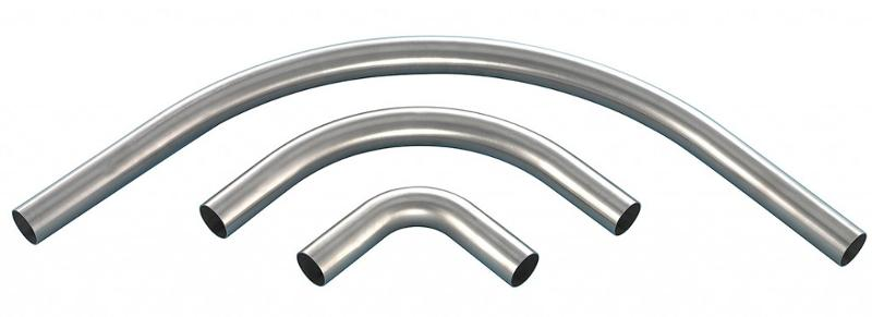 Stainless steel pipe bends - null