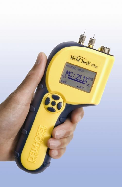 Building materials moisture meter - Restoration - TechCheckPlus 2-in-1