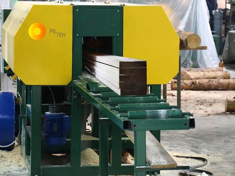 Thin log sawing machine UPT-250 - Станок переработки тонкомера