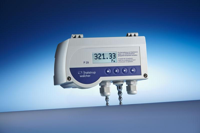 Differential pressure transmitter P 29 - Safe measurement of differential pressure of natural gas