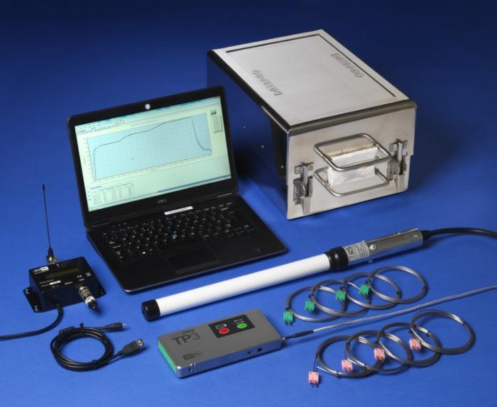 DATAPAQ Kiln Tracker Temperaturprofilsystem - Robustes Messsystem zur Erstellung von Temperaturprofilen in Brennöfen