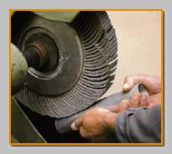 Falke grinding flap wheels