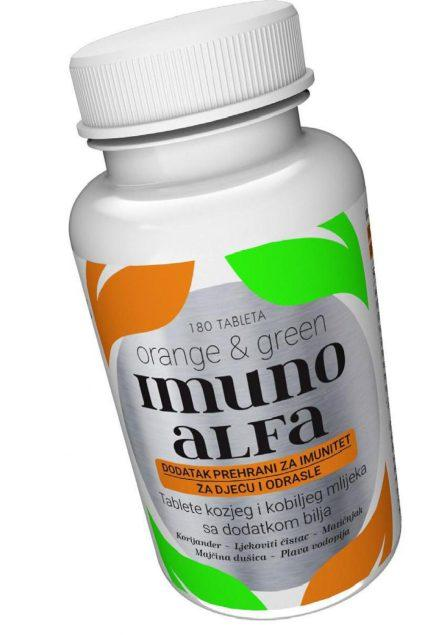 Imunoalfa-innovative formula that boosts the immune system - International gold medal for innovation of a high quality natural supplement